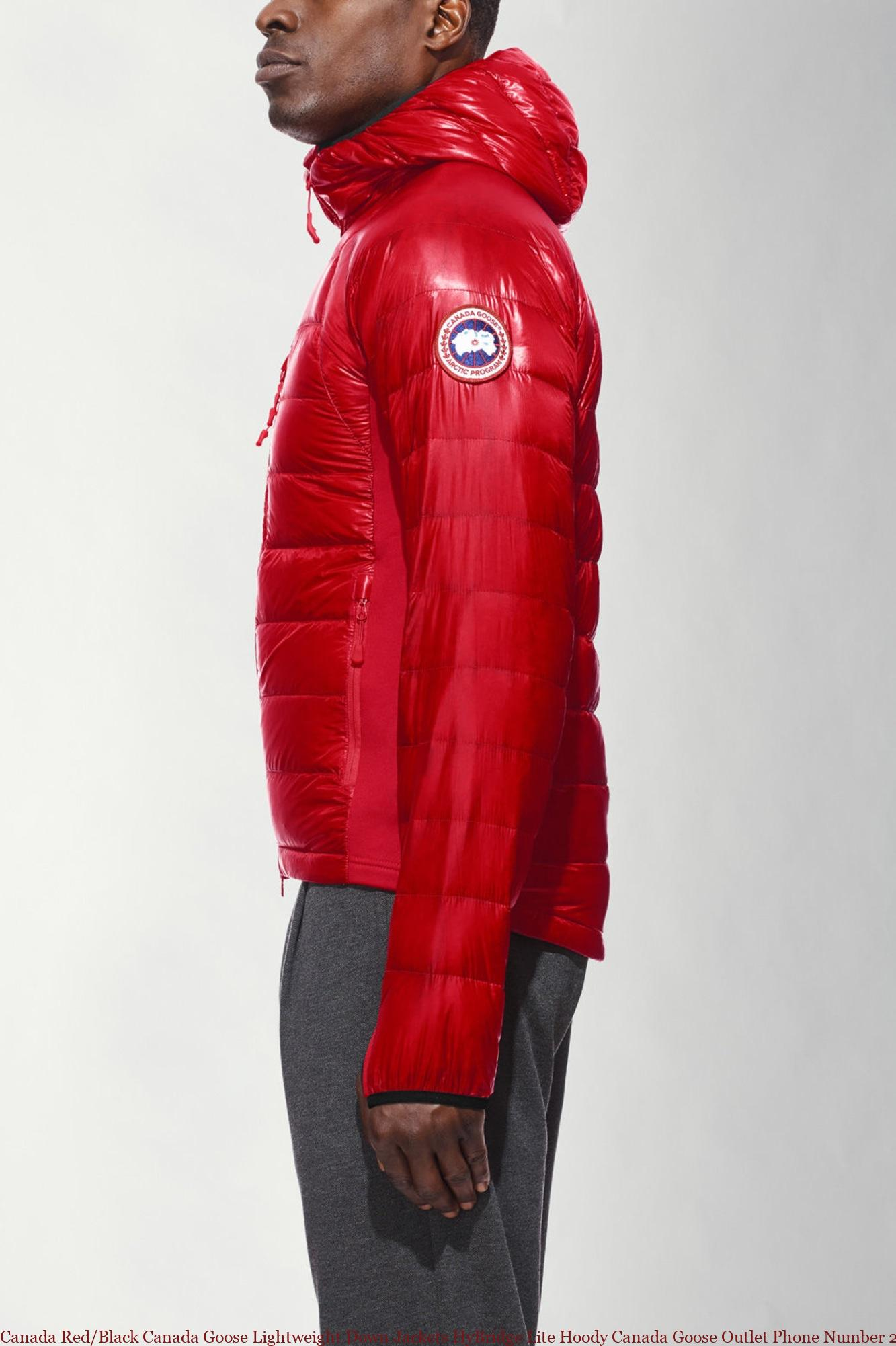 affordable price new arrival best price Canada Red/Black Canada Goose Lightweight Down Jackets HyBridge ...