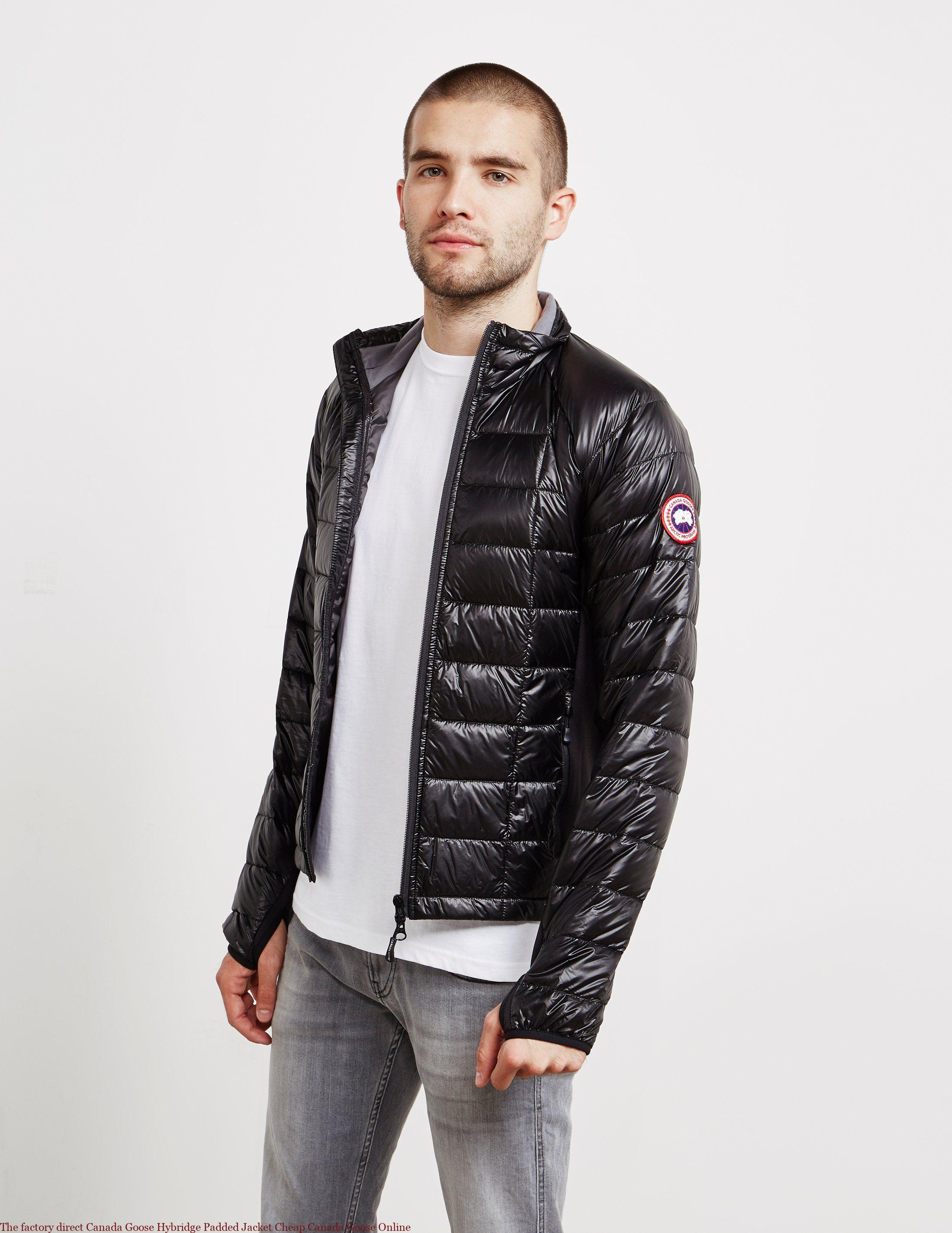 c4addbed4e4 The factory direct Canada Goose Hybridge Padded Jacket Cheap Canada Goose  Online